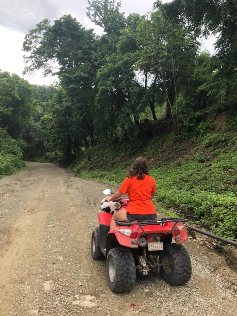 Balade en quad à Santa Teresa, Costa Rica