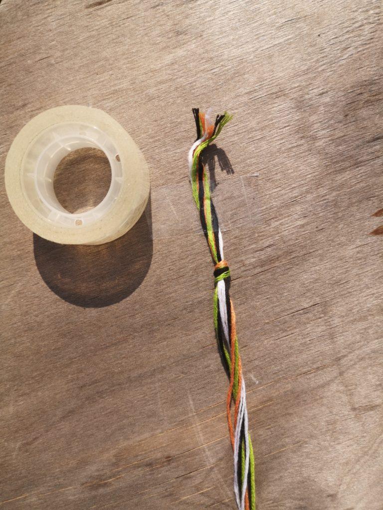 Etape 2 : Comment faire des bracelets brésiliens ?