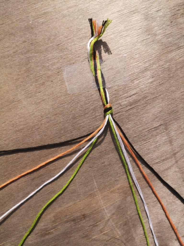 Etape 3 : Comment faire des bracelets brésiliens ?