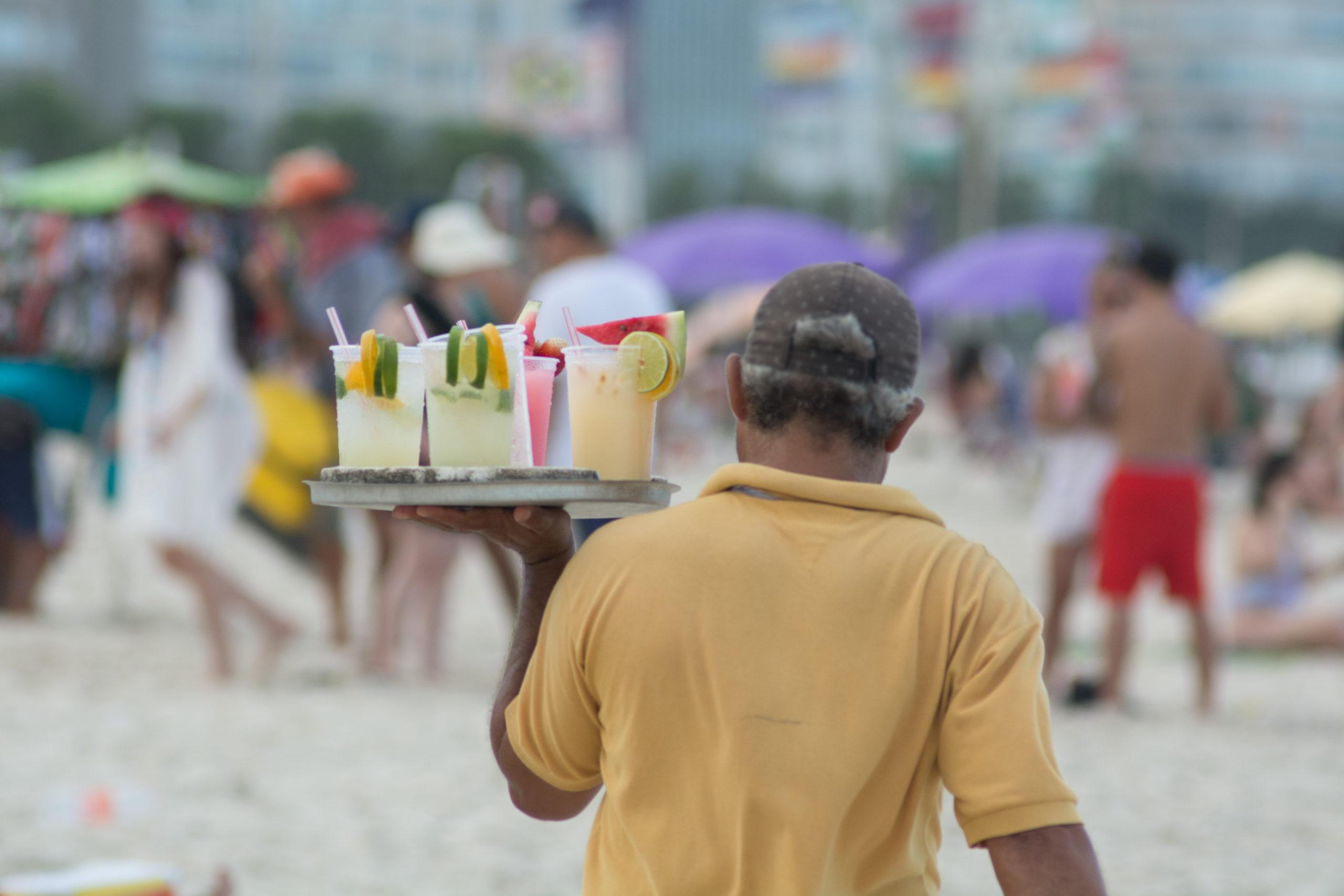 Vendeur de Caïpirinha à Rio