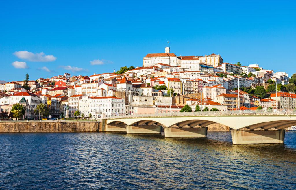 Vue de Coimbra, Portugal