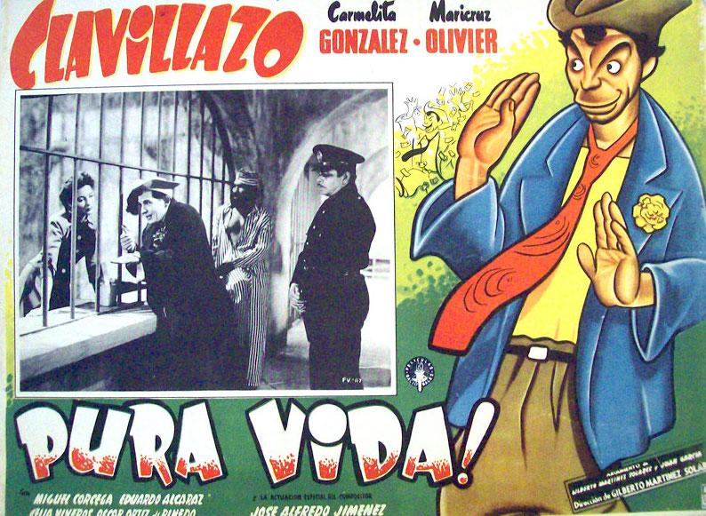 Pura Vida ! Film 1956