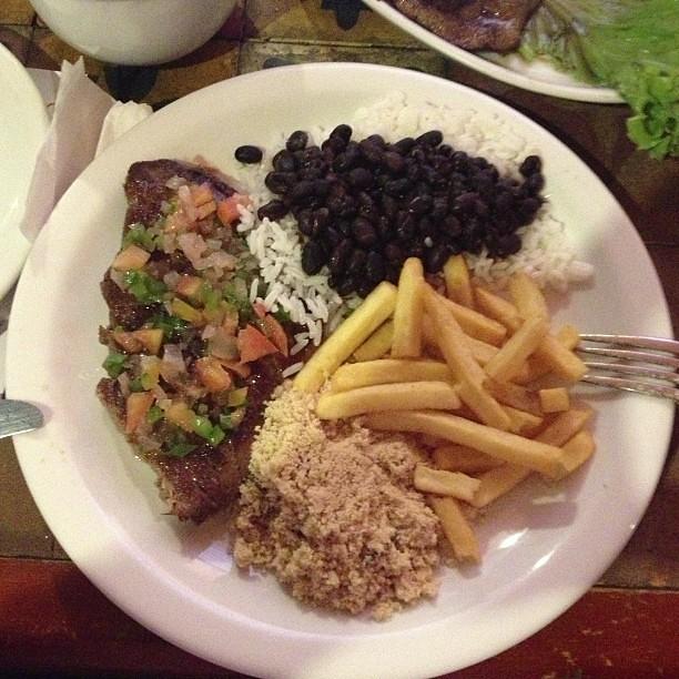 Assiette brésilienne