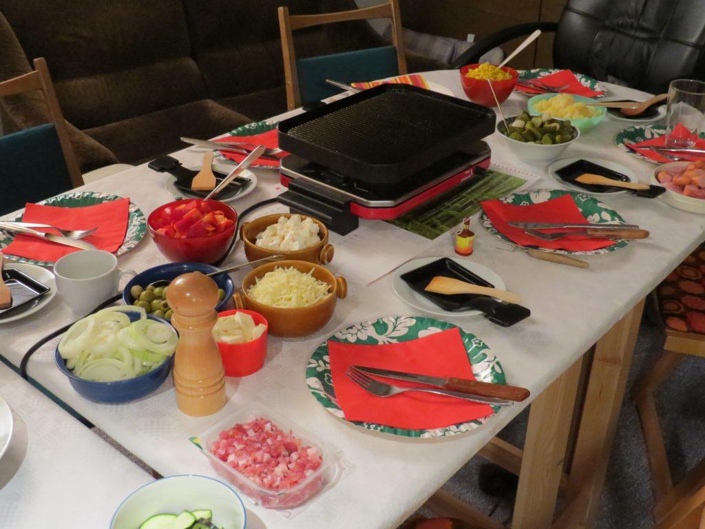 Raclette allemande