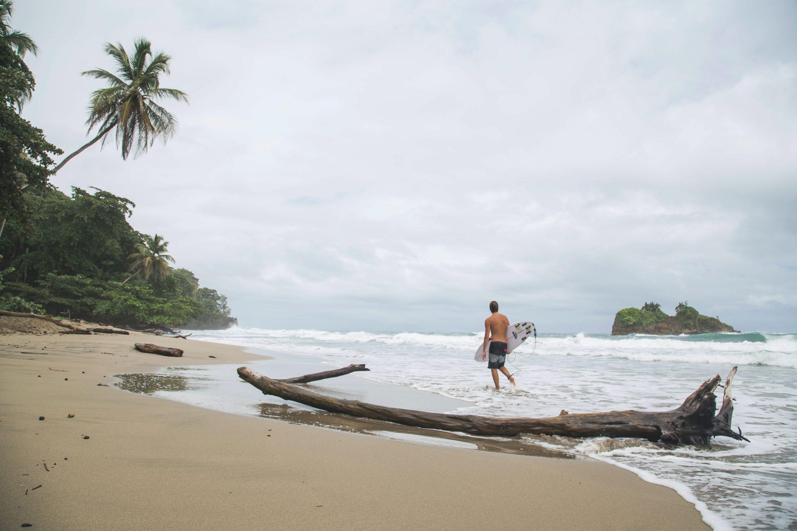 Plage Costa Rica surf