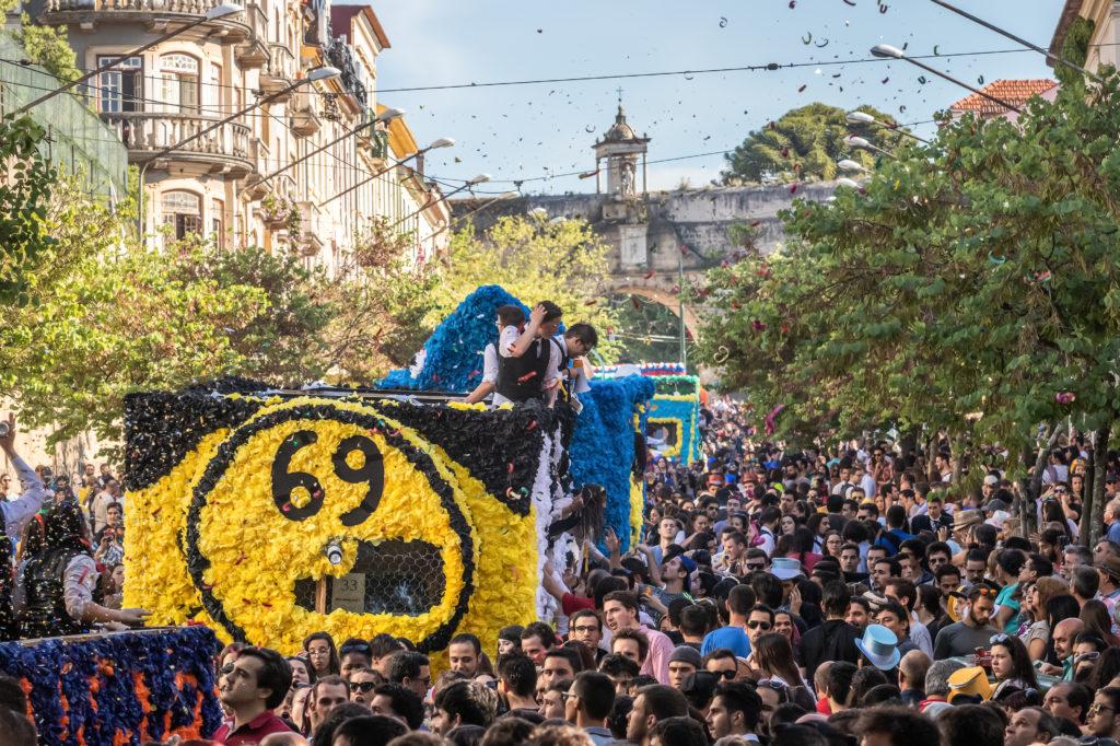 Parade des Queimas das Fitas, Coimbra