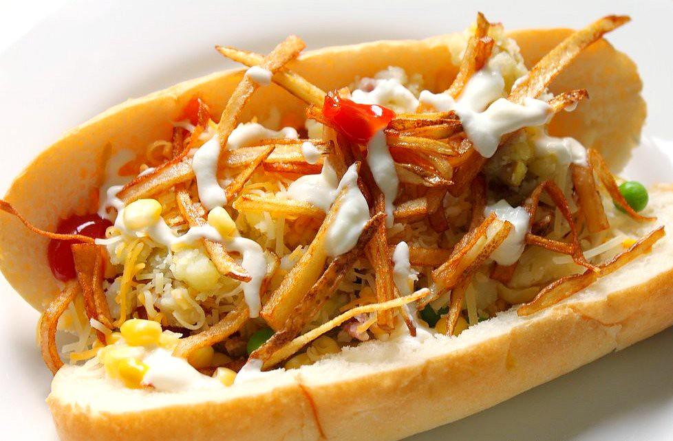 Hot dog brésilien