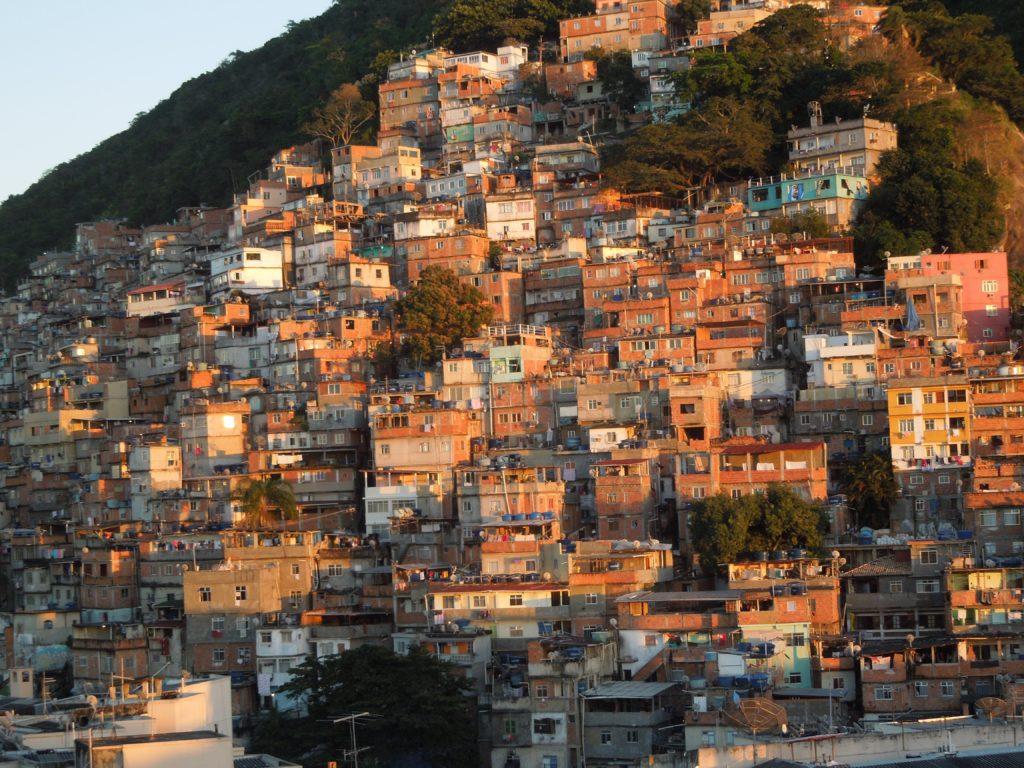 Bidonville Brésil