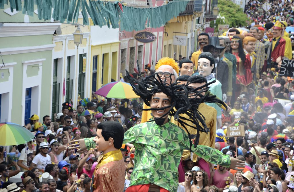 Carnaval Olinda Brésil