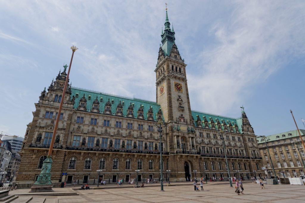 Hôtel de ville Hambourg