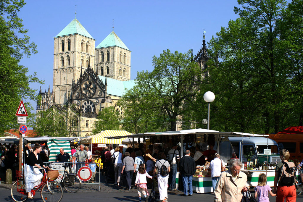 Marché Münster Allemagne