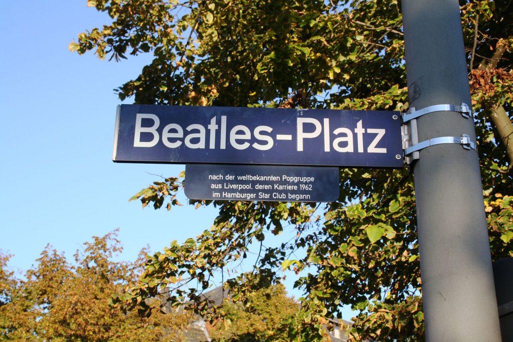 Beatles Hambourg Allemagne