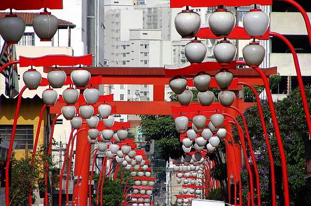 Quartier japonais Sao Paulo