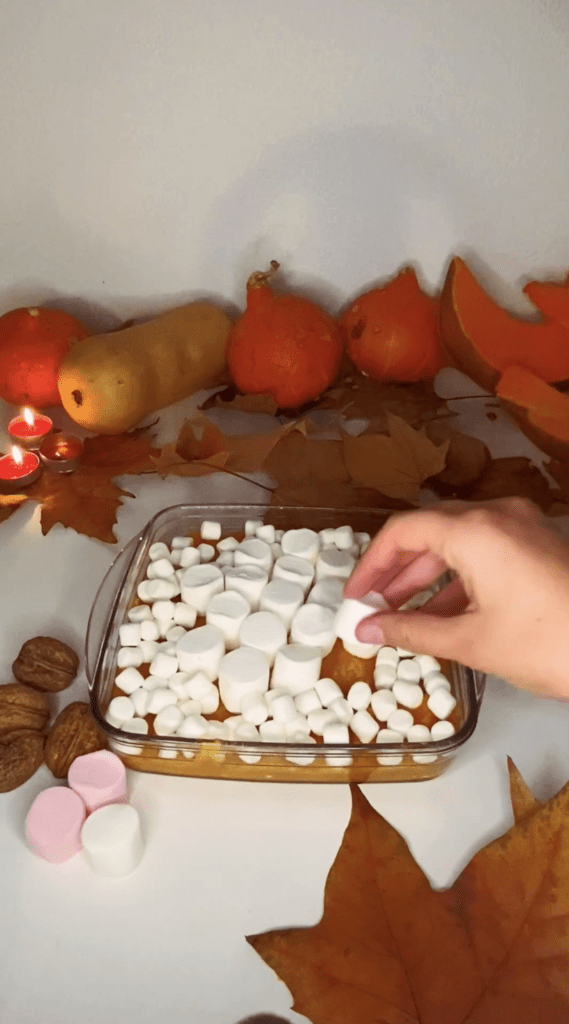 Patate douce thanksgiving recette