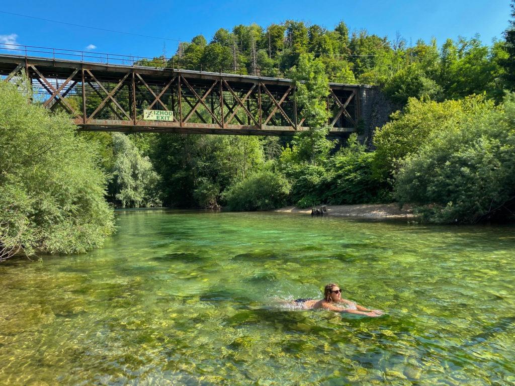 Baignade Save Slovénie