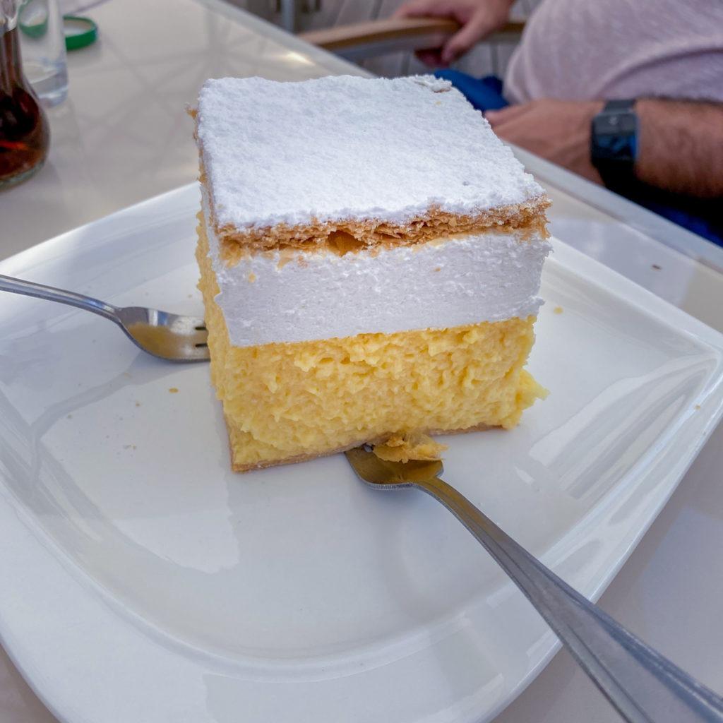 Kremznita gateau à la crème Slovénie Bled